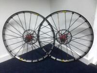 "Mavic Crossmax SLR 26"" wheelset MTB Mountain Bike"