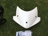 Triumph speed triple fly screen and visor