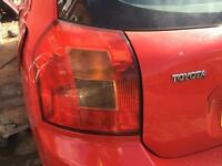 Toyota Corolla back lights for sale