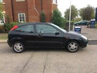 2002 Ford Focus 1,6 litre 3dr 1 owner