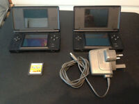 Ds lite x2 + one charger + Mario party Ds