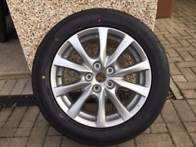 Mazda 6 Alloy Wheel and Tyre