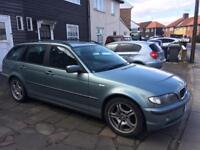 BMW 318 I SE 2003 TOURING 3 SERIES HPI CLEAR 2 OWNERS/ NOT VW PASSAT VECTRA VAUXHALL X3 ford orA3