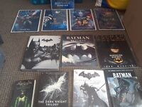 Batman books and pictures