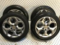 Ford Focus Snow Flake / Transit connect Alloy Wheels