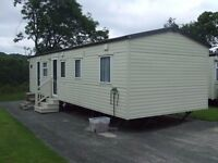 Atlas Chorus 35x12 ft 3 bedroom static caravan for sale in forest of Pendle leisure park, Roughlee