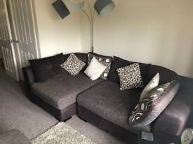 Large Corner Sofa & Two Seater - Need gone!