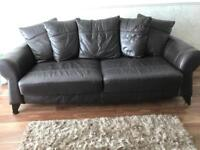 FOUR SEATER SOFA + CHAIR