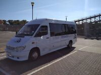 16 seater MINIBUS hire LONDON, KENT 16 seater WITH DRIVER ANY TIME