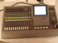 ROLAND VS-1680. 16 TRACK DIGITAL RECORDER WITH ALL MANUALS AND ONE FX CARD FITTED