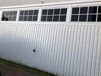 Double garage door (Hormann) 4410mm wide/ 2195 mm high. .