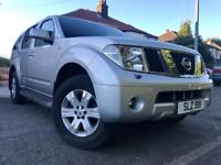 2006 NISSAN PATHFINDER 4X4 AVENTURA 7-SEATER-2.5 DIESEL,GENUINE 106000 MILES,TWO OWNERS,HPI CLEAR