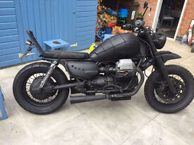 Moto Guzzi California Hepko & Becker Luggage and frames and other Cali spares to swop for? See ad.