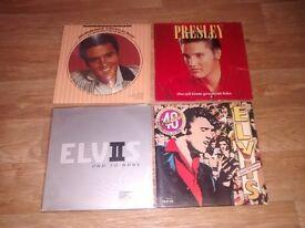 4 x rare elvis vinyl LP's picture disc / colour vinyl / limited edition