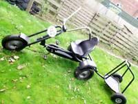 Berg trike and trailer gocart