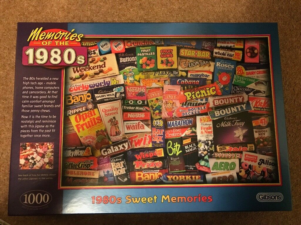 Memories of the 1980s puzzle