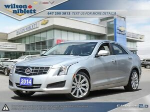 2014 Cadillac ATS 2.0L Turbo Luxury 1 OWNER, ACCIDENT FREE, C...