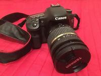 Canon 7D + 18-135mm, 17-50mm, 50mm lens