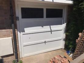 Garage door up and over