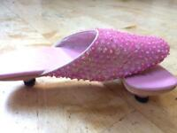 Shoes for little girl, princessy, sparkely