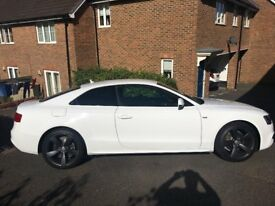 A5 S LINE BLACK EDIT TDI QUATTRO COUPE DIESEL 2015 2 OWNERS SERVICE HISTORY