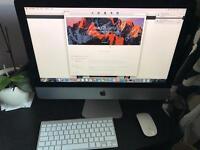 Apple 21.5 iMac 8gb 500gb 2015 model