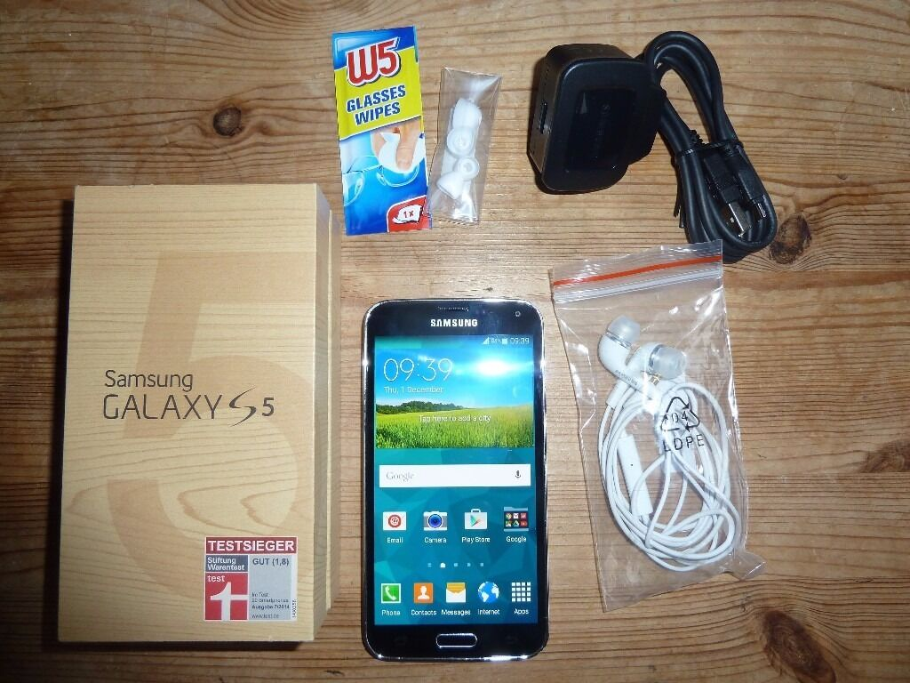 Samsung Galaxy S5 Unlocked Dual Sim option
