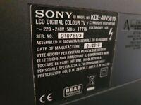 """LCD SONY BRAVIA 42"""" (no smart tv)"""
