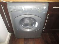 Hotpoint Silver Washing Machine