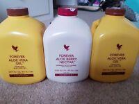 3 x Forever living aloe vera drink