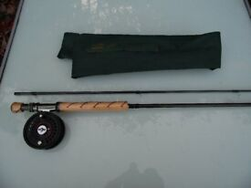 Fishing Shakespeare Xede 9'6 Fly Rod with Reel and Sinking Line NEW