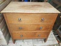 Solid Vintage chest