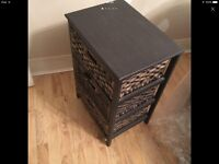 3 drawer chest drawers for living room or bed room was £179 in Homebase's used 2 months only