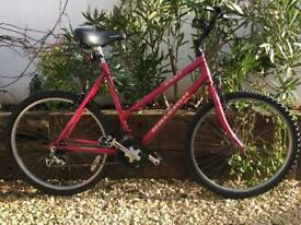 Raleigh zest ladies bike 54cm new tyres and brake upgrade