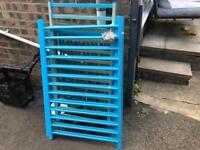 Blue cot