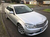 2008 Model MERCEDES-BENZ C220 CDI Auto FSH, Sat Nav, DVD Player, Lady owner, DIESEL 5 DOOR