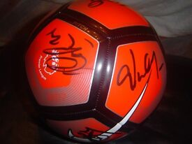 STOKECITY SIGNED PREMSHIP BALL NEW SIGNED BY FIRST TEAM