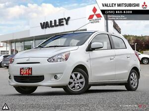 2014 Mitsubishi Mirage SE - ALLOYS, AC, BALANCE OF WARRANTY