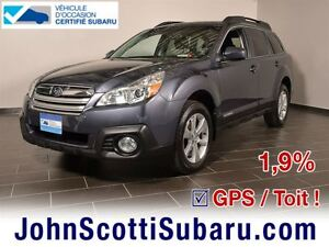 2014 Subaru Outback Limited 1.9%