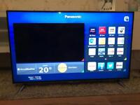 """48"""" Panasonic Smart 4K Ultra HD LED TV with Built-In WiFi and Freeview HD"""