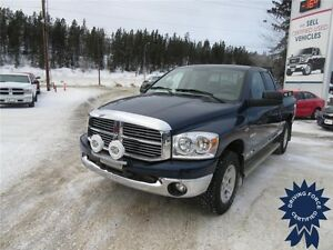 2008 Dodge Ram 1500 SLT 4x4 - 100,966 KMs, Seats 5, Short Box