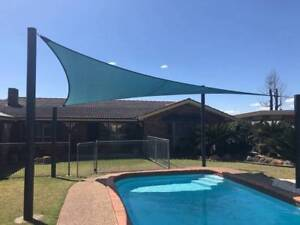 High Quality Shade Sail With Steel Poles Parasols Gazebos