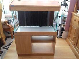 120Ltr Aqua Stand Fish Tank and Cabinet