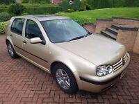 MK4 AUTOMATIC VW GOLF SE. EXCELLENT CONDITION & HIGH SPEC.