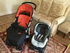 Mamas & Papas pushchair and Baby car seat