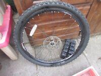 26 Inch Front Mountain Bike Disc Brake Wheel 160mm Rotor