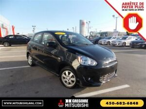 2015 Mitsubishi Mirage ES+ Air Mags Gr.Elec MP3-AUX COMME NEUF