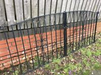 Nice Set Of Arched Wrought Iron Driveway Gates Possible Delivery call for info