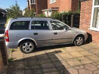 Vauxhall Astra Estate. Year 2000 V reg.