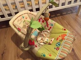 Fisher-Price Woodsy Friends Comfy Time Bouncer (Nearly new)